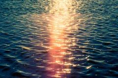 Sea water and sun Stock Image