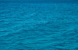 Sea water surface Royalty Free Stock Images