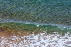Sea water surface background. Royalty Free Stock Photography