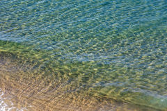 Sea water surface background. Royalty Free Stock Photos