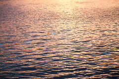 Sea water surface with ripple pattern Stock Images