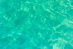 Sea water surface. In sunshine royalty free stock images