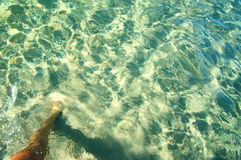 Sea water texture Royalty Free Stock Photo