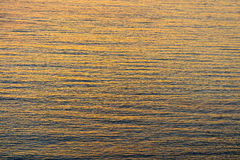 Sea water texture at sunset. Sea water texture at the sunset Stock Images