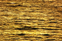 Sea water texture at sunset. Sea water texture at the sunset Stock Photo