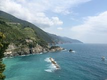 Sea. Water travel Italy vacation Royalty Free Stock Images
