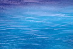 Sea water troubled by a ferry 1 Royalty Free Stock Photography