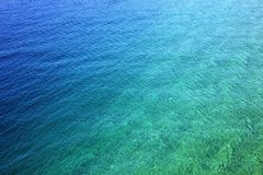 Sea water stock photography