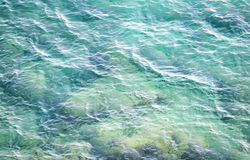 Sea water wave background Royalty Free Stock Photography