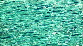 Sea Water Waves and Reflection stock footage