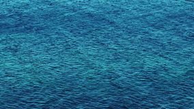 Sea Water Waves Surface and Reflection stock footage
