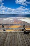 Sea water yellowstone national park Royalty Free Stock Photos
