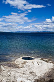 Sea water yellowstone national park Royalty Free Stock Photography