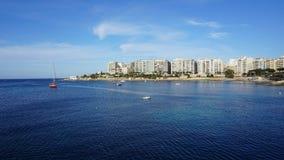 Sea, Waterway, Sky, Horizon stock photo