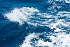 Sea wave stock image