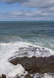 Sea Wave. The view of the ocean with sea wave Stock Images