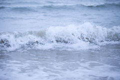 Sea wave on beach Royalty Free Stock Images