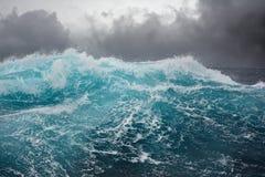 Sea wave in the atlantic ocean Royalty Free Stock Images