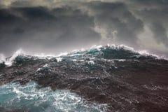 Sea wave in the atlantic ocean Royalty Free Stock Photo
