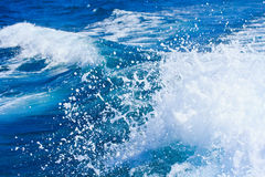 Sea wave background Royalty Free Stock Photos