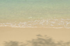 Sea wave and beach. Royalty Free Stock Images