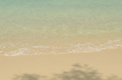 Sea wave and beach. Stock Photography