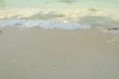 Sea wave and beach. Stock Photo