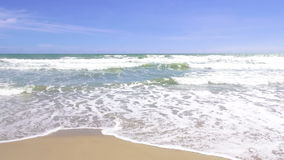 Sea wave on the beach. HD Format : Sea wave on the beach stock video footage