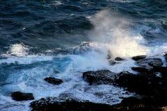 Sea wave. Beautiful Dahai waves in Asia Stock Image