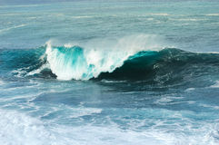 Sea wave. A beautiful sea wave embracing the air Royalty Free Stock Photos