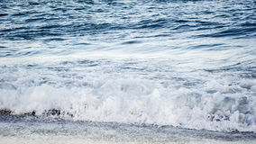Sea wave. Black Sea summer wave beach Royalty Free Stock Images
