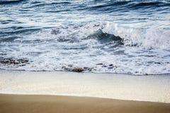 Sea wave. Black Sea summer wave beach Stock Photos
