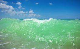 Sea wave breeze Royalty Free Stock Photos