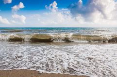 Sea ​​wave on the coast Royalty Free Stock Photography