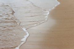 Sea wave hits rocks Royalty Free Stock Images