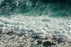 Sea wave pattern royalty free stock images