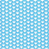 Sea wave pattern Royalty Free Stock Photography