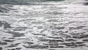 Sea wave stock video footage