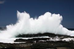 Sea Wave Spray Royalty Free Stock Photos