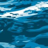 Sea_wave_texture διανυσματική απεικόνιση