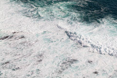 Sea wave. From top view Royalty Free Stock Image