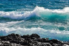 Sea, Wave, Wind Wave, Ocean royalty free stock photo