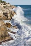 Sea waves. Royalty Free Stock Photos