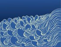 Sea waves. Stock Photos