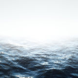 Sea with waves Stock Image