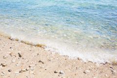 Sea waves beach. Stock Image