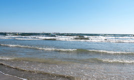 Sea waves 2. Sea waves in Black Sea Stock Photo