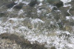 Sea waves 4. Sea waves in Black Sea Royalty Free Stock Photo