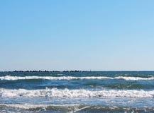 Sea waves 5. Sea waves in Black Sea Royalty Free Stock Photo