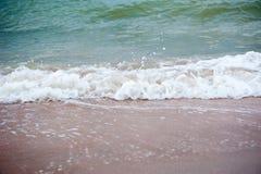 Sea waves stock photography
